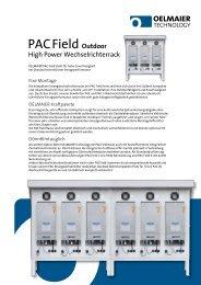 PACField Outdoor - Sonnett GmbH & Co. KG
