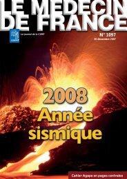 Médecin de France n°1097 - 30 décembre 2007 - CSMF