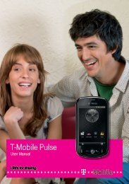 User Manual - Toestelhulp - T-Mobile