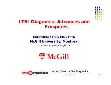 LTBI Diagnosis - Foundation for Innovative New Diagnostics