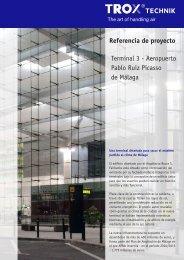 Referencia de proyecto Terminal 3 - Aeropuerto Pablo Ruiz ... - Trox