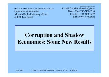 shadow economies and corruption across the Pulling fraud out of the shadows  pwc's 2018 global economic crime and fraud survey finds that 49% of global organisations say they've experienced economic.