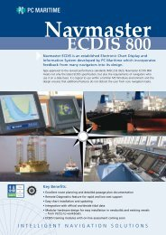 Navmaster 800 - PC Maritime