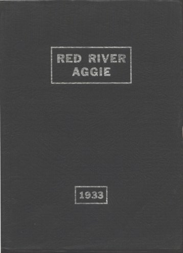 Aggie 1933 - Yearbook