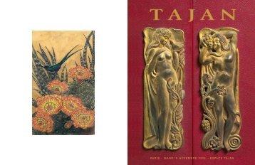 Tajan - Arts décoratifs du 20e siècle - Vente le 08 novembre 2005