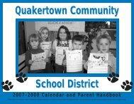 2007-08 Calendar and Parent Handbook - Quakertown Community ...