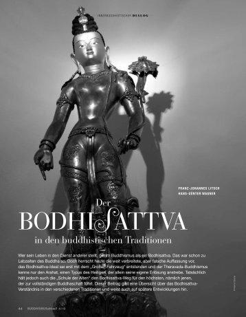 Der Bodhisattva in den buddhistischen Traditionen - Engagierter ...