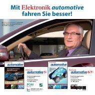 mit Elektronikautomotive fahren Sie besser! 5 - next!-Community