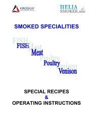 SMOKED SPECIALITIES