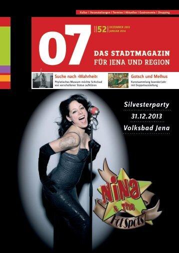 Ausgabe 52 - 07 Das Stadtmagazin . BLOG