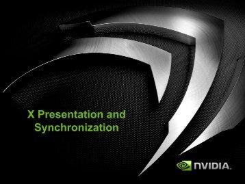 X Presentation and Synchronization - FreeDesktop.Org