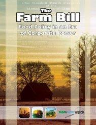 The Farm Bill - Food & Water Watch