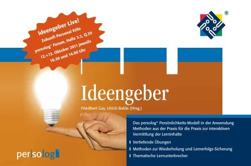 Ideengeber - Persolog GmbH