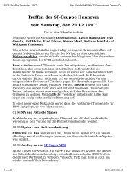 Protokoll von Fred Körper - SFGH