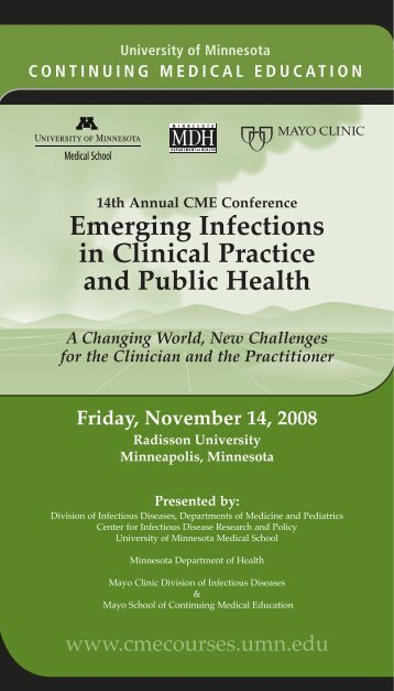 Emerging Infections in Clinical Practice and Public Health