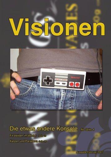 Die etwas andere Konsole Ab Seite 4 - Vis - ETH Zürich