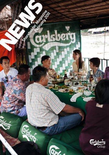 Shareholder M agazine February 2011 - Carlsberg Group