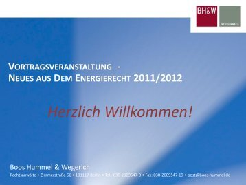 Bekanntmachung spätestens 2 Jahre vor - Boos Hummel Wegerich