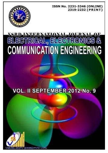 Download Complete CONTENTS in PDF Format - vsrd international ...