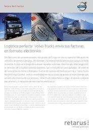 Volvo Trucks envía sus facturas en formato electrónico - Retarus