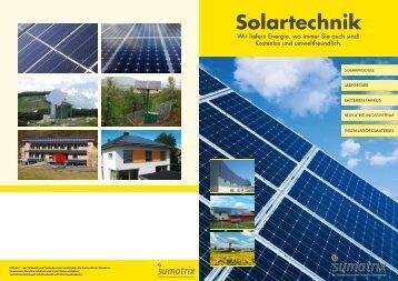 Solartechnik - Sumatrix