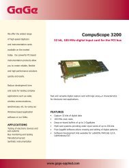 Compuscope 3200 - Egmont Instruments