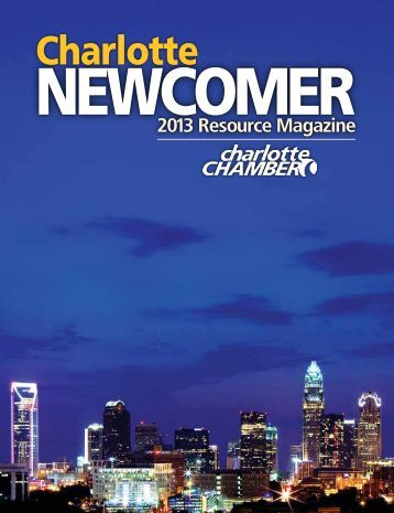 Newcomer Directory (15MB PDF) - Charlotte Chamber of Commerce