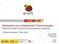 Relaunch reifer Tourismus-Destinationen: das Beispiel Spanien