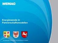 Energiewende in Partnerschaftsmodellen - ÖPP Deutschland AG