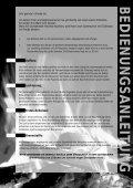 BEDIENUNGSANLEITUNG GEBRAUCHSANWEISUNG - Gardelino - Seite 2
