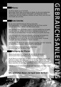 BEDIENUNGSANLEITUNG GEBRAUCHSANWEISUNG - Gardelino - Seite 4