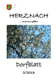 2. Ausgabe Mai - Gemeinde Herznach