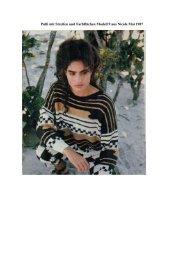 Pulli mit Streifen und Farbflächen Modell 9 aus Nicole Mai ... - Tichiro