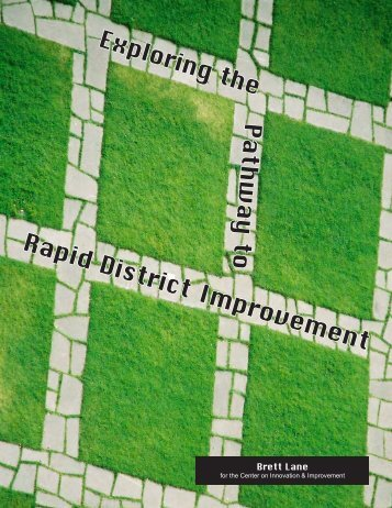 Rapid District Improvement - Academic Development Institute