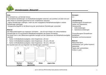 "Informationspapier ""Malquartett"" _____ - PIK AS - TU Dortmund"