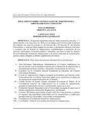 Reglamento - Universidad Autónoma de Coahuila