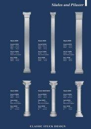 Säulen und Pilaster - Classic Stuck Design