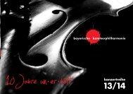 konzertreihe eu - bayerische kammerphilharmonie