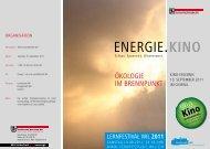 EnErgiE.KINO - Technische Betriebe Wil