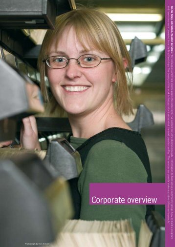 Annual Report 2005 - Corporate overview - State Library of New ...