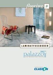 palazzo gibt es derzeit in sechs aufregenden Steindekor-Oberflächen
