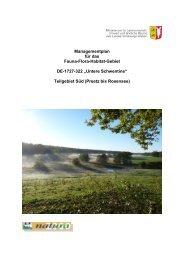 Managementplan für das Fauna-Flora-Habitat-Gebiet DE-1727-322 ...