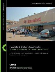 Hannaford Brothers Supermarket - CBRE
