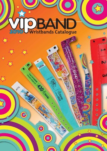 and tyvek® wristbands - Precision Dynamics Corporation