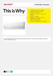 AY-XPC18LR / AE-X18LR-Vėsinantis oro kondicionierius ... - Sharp