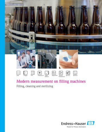 Modern measurement on filling machines - Endress+Hauser