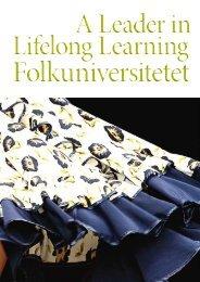 Lifelong Learning Lifelong Learning A Leader in - Folkuniversitetet