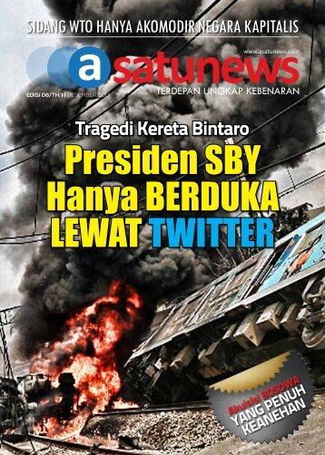 Presiden SBY Hanya Berduka lewat Twitter