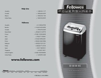 fellowes galaxy 500 instruction manual