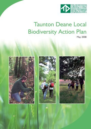 Biodiversity Action Plan - Taunton Deane Borough Council